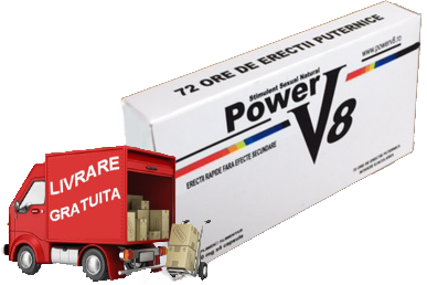 PowerV8® - transport gratuit